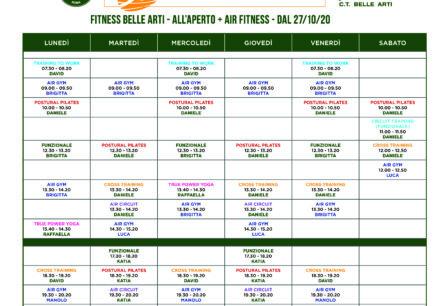 Orari fitness APERTO