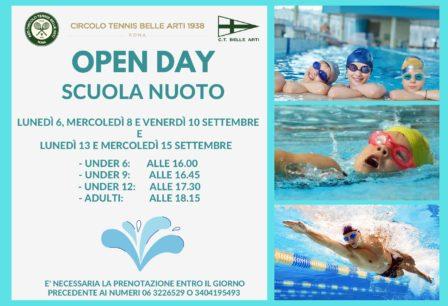 Open Day Scuola Nuoto